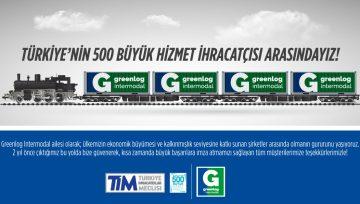 Türkiye'nin 500 Büyük Hizmet İhracatçısı Arasındayız!